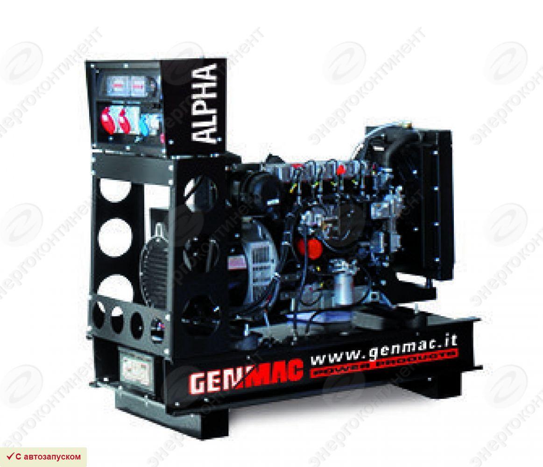 Дизельный генератор GENMAC Alpha G30PO с АВР
