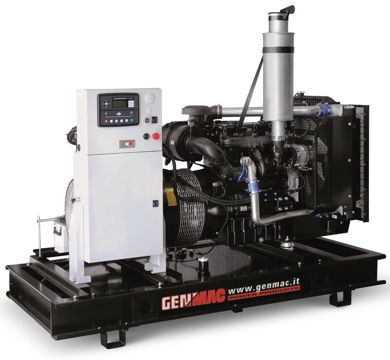 Дизельный генератор GENMAC G250PO с АВР
