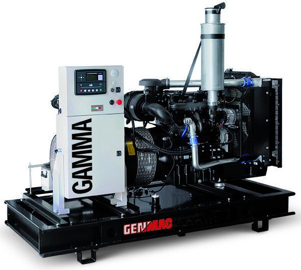 Дизельный генератор GENMAC G100PO