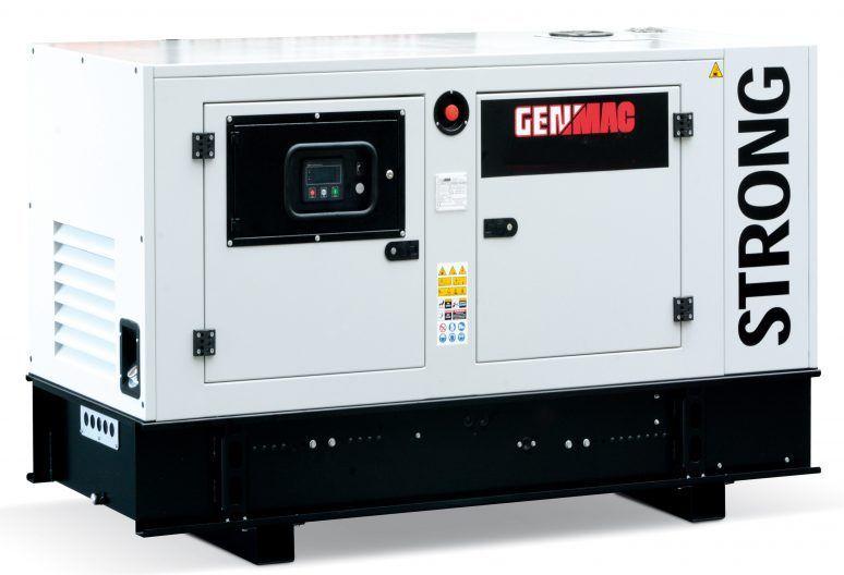 Дизельный генератор GENMAC Stone RG30PS в кожухе с АВР