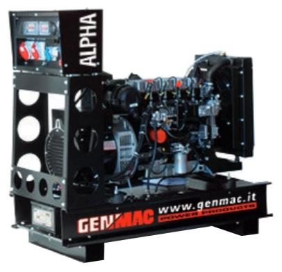 Дизельный генератор GENMAC Alpha G60PO с АВР