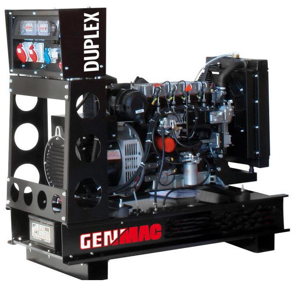 Дизельный генератор GENMAC Duplex G13PO с АВР