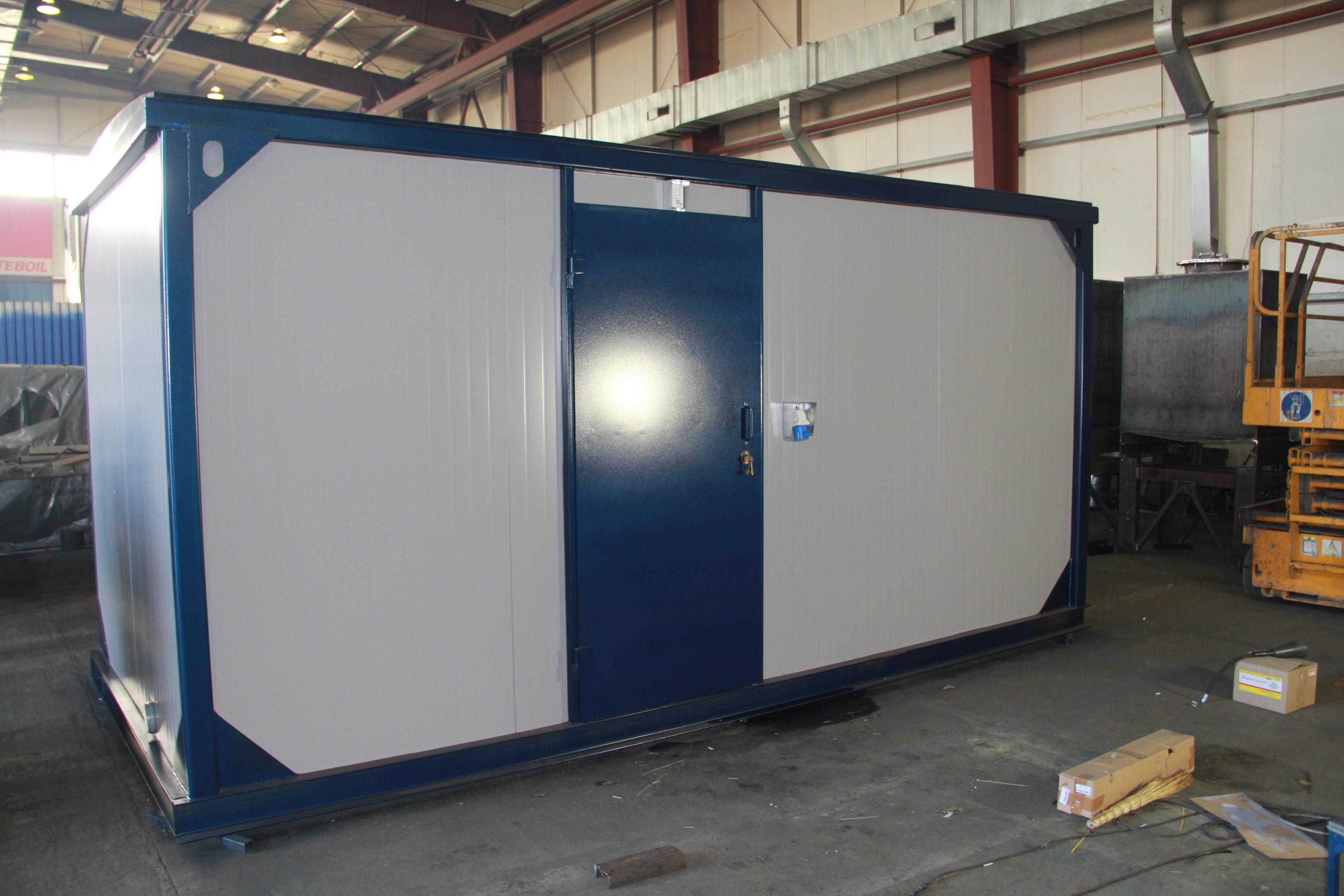 Дизельный генератор IVECO АД-400С-Т400 в контейнере с АВР