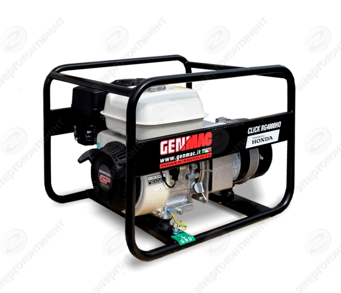 Бензогенератор GENMAC CLICK RG4000HO