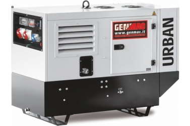 Дизельный генератор GENMAC URBAN G15000KS в кожухе с АВР