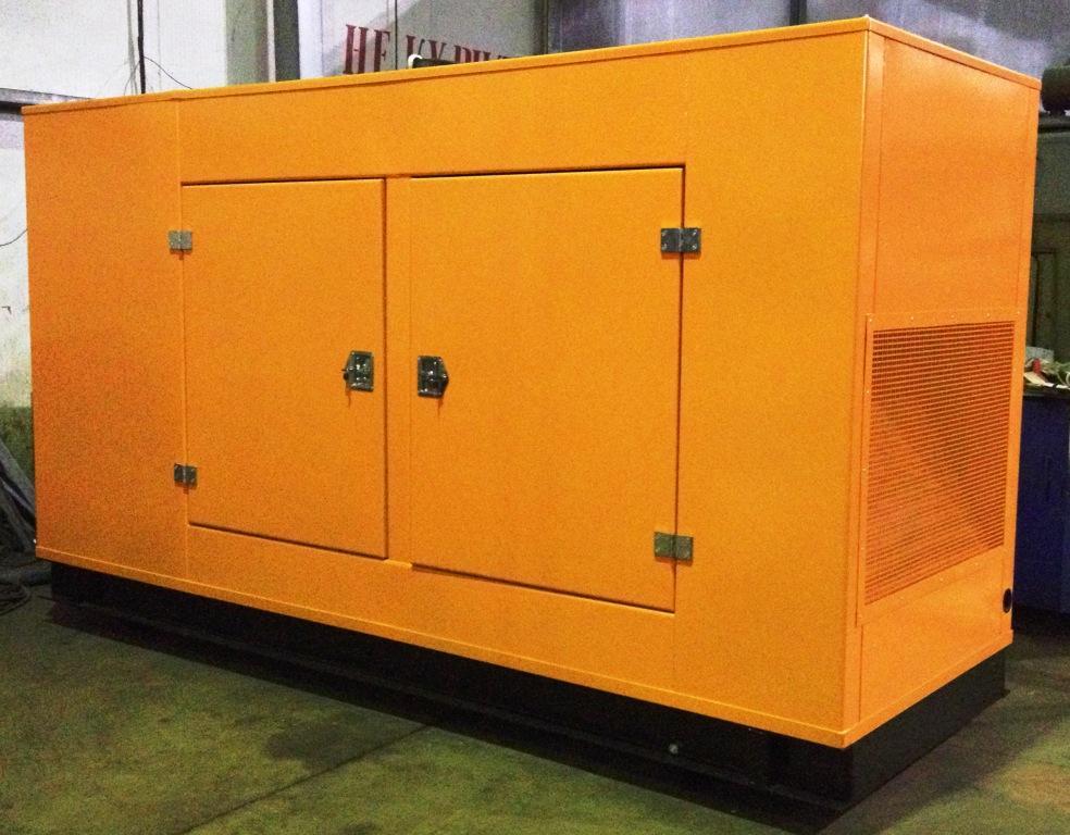 Дизельный генератор IVECO АД-320С-Т400 в кожухе с АВР