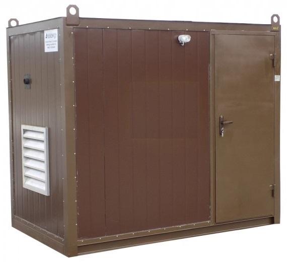 Бензогенератор GENMAC COMBIPLUS RG10000HEO в контейнере с АВР