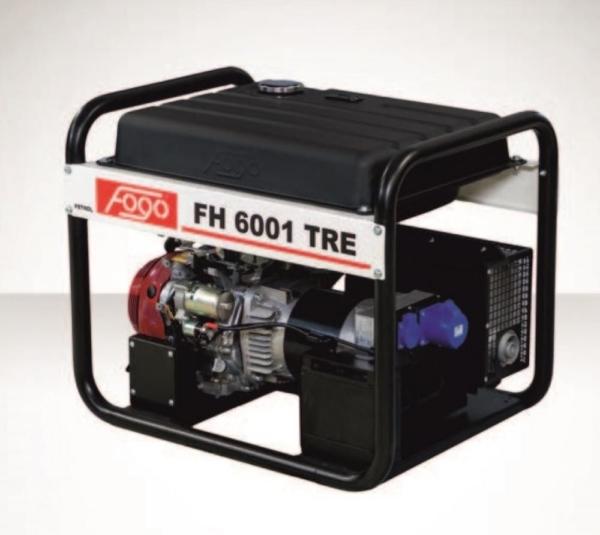 Бензогенератор FOGO FH 6001 TRE