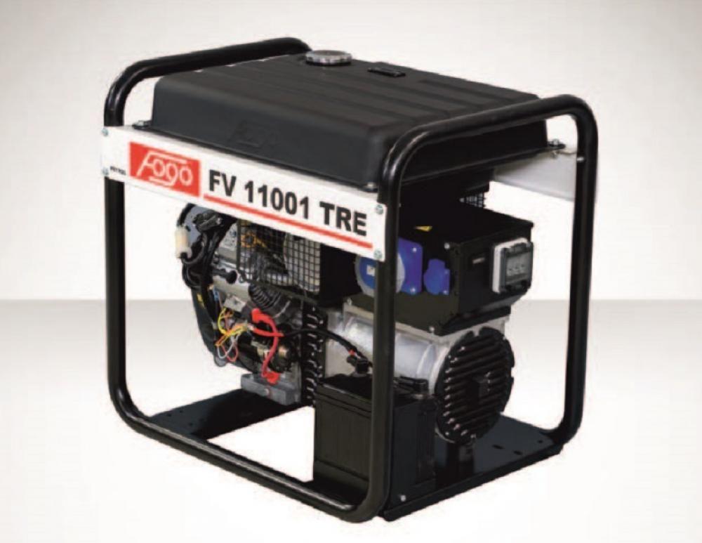 Бензогенератор FOGO FV 11001 TRE с АВР