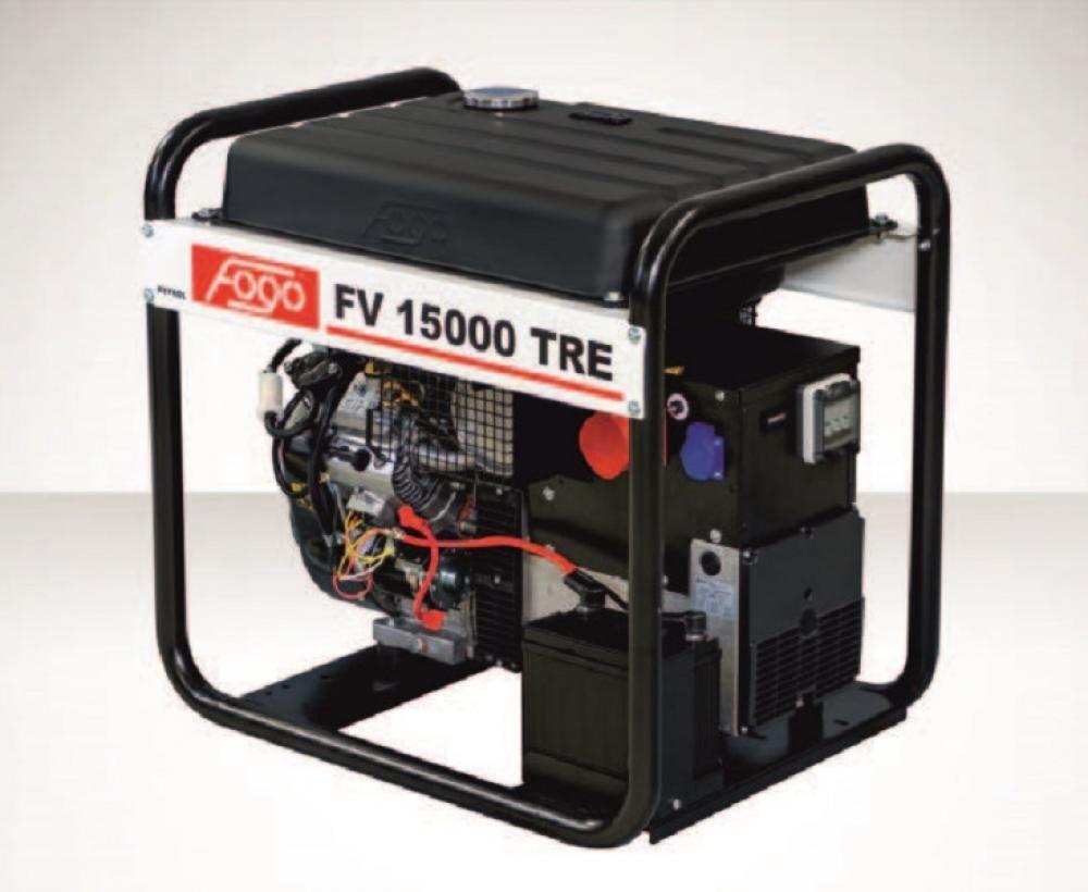 Бензогенератор FOGO FV 15000 TRE с АВР
