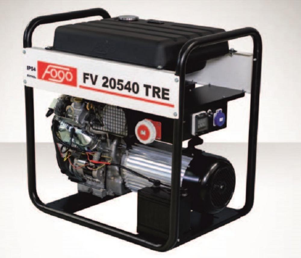 Бензогенератор FOGO FV 20540 TRE с АВР