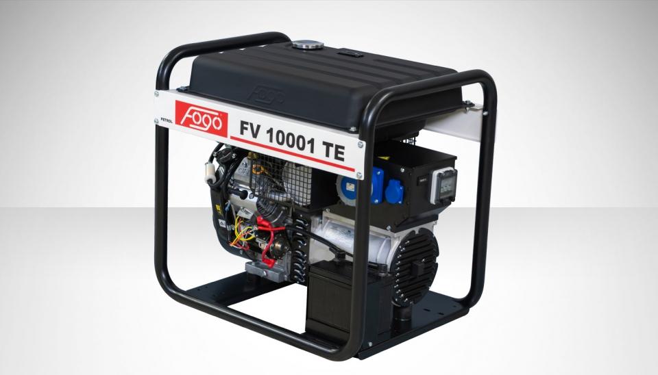Бензогенератор FOGO FV 10001 TE с АВР