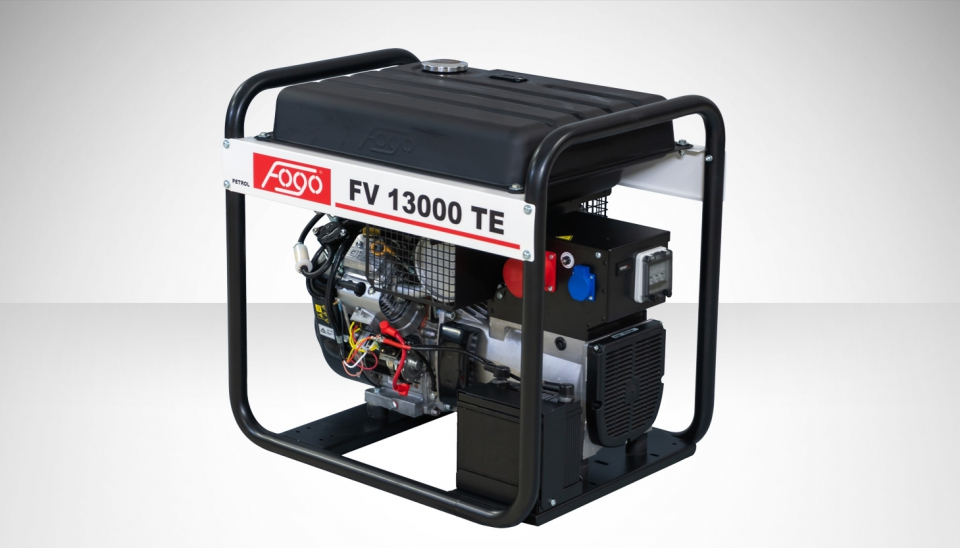 Бензогенератор FOGO FV 13000 TE с АВР