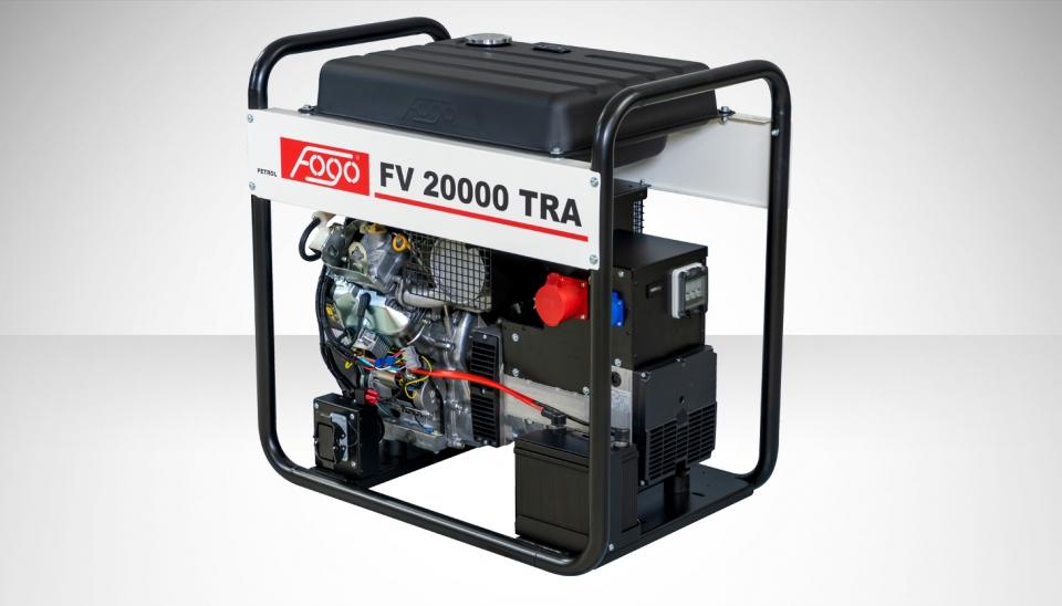 Бензогенератор FOGO FV 20000 TRA с АВР