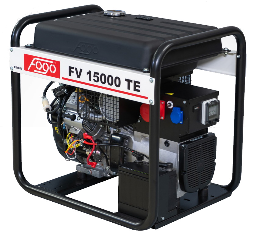 Бензогенератор FOGO FV 15000 TE с АВР