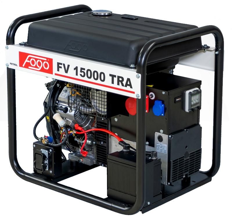 Бензогенератор FOGO FV 15000 TRA с АВР