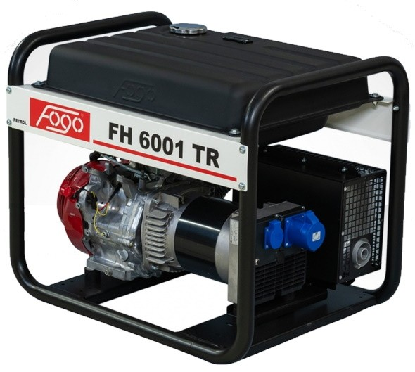 Бензогенератор FOGO FH 6001 ТR