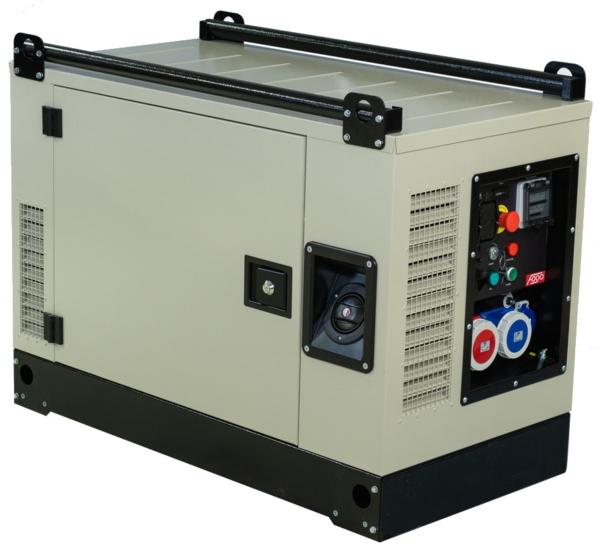 Бензогенератор FOGO FV 13000 CRA в кожухе