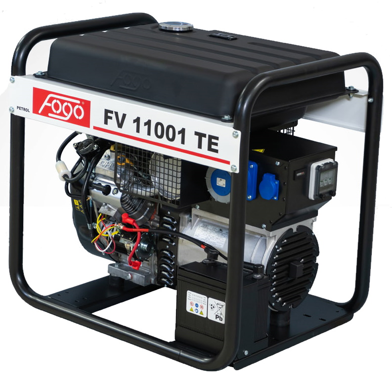 Бензогенератор FOGO FV 11001 TE с АВР
