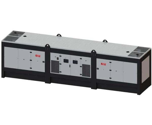 Дизельный генератор FOGO FDG 1200.VA в кожухе с АВР